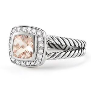 David Yurman Morganite Ring